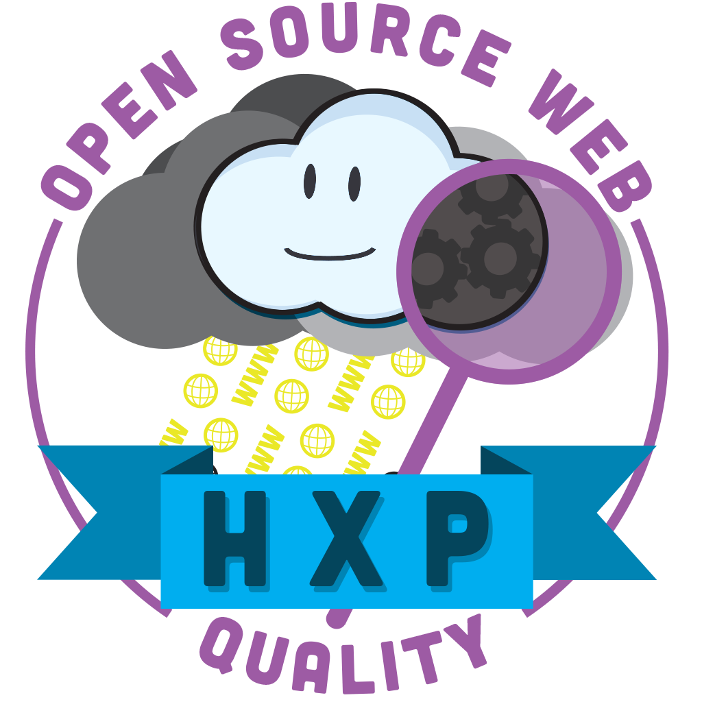 hxp's seal of open source web quality